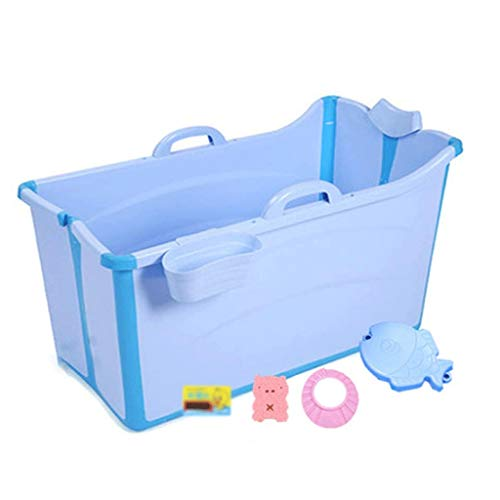 HXY Bañera Plegable y portátil Material PP TPE Piscina (con Travel niños) Familia con Gran Piscina de niños Eco Bath