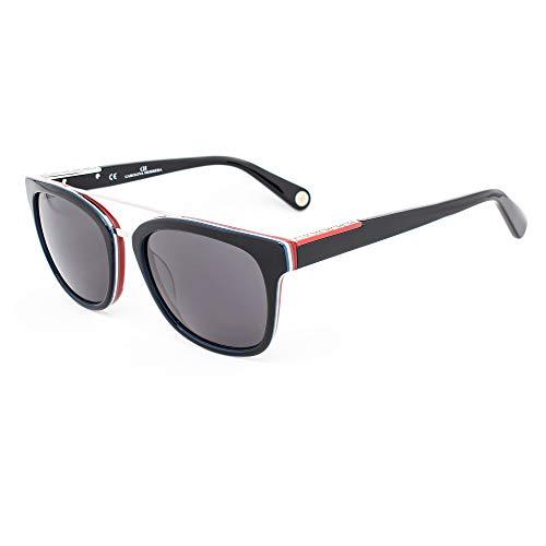 Carolina Herrera SHE6850L28 Gafas de sol, Negro, 52 para Hombre