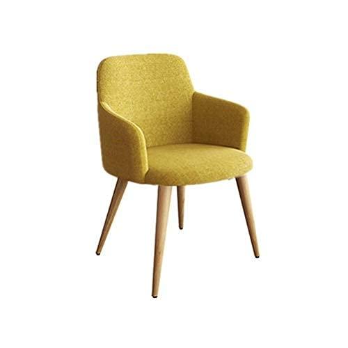 Krzesła do jadalni Kuchnia Krzesła do jadalni, biuro sprzedaży Negocjuj wypoczynek Domowa kawiarnia Counter Lounge Recepcja Chair Kuchnia (kolor: żółty)