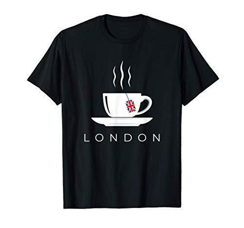 London Tea Cup England United Kingdom Great Britain Trip T-Shirt