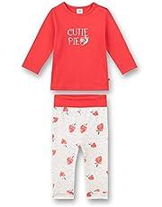 Sanetta Schlafanzug Lang Rosa Mamelucos para bebés y niños pequeños