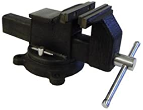 All Steel Vise with Anvil, 10-Inch
