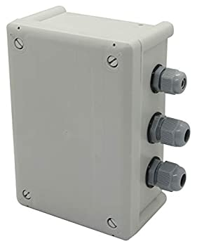 Orbit 57009 Sprinkler System 1 or 2 Horsepower Pump Start Relay  Gray