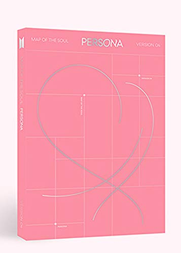 Bighit BTS Bangtan Boys - Map of The Soul : Persona [4 Ver.] CD+76p Photobook+20p Mini Book+1Photocard+1Postcard+1Photo Film+Folded Poster+Double Side Extra Photocards Set