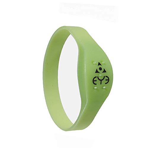 THEYE Mosquito Repellent Wrist Band, Green, Extra Small (160mm)