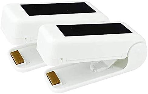 2 Pack Mini Bag Sealer Bag Sealing Machine Portable Food Sealer Handheld Heat Vacuum Sealers product image