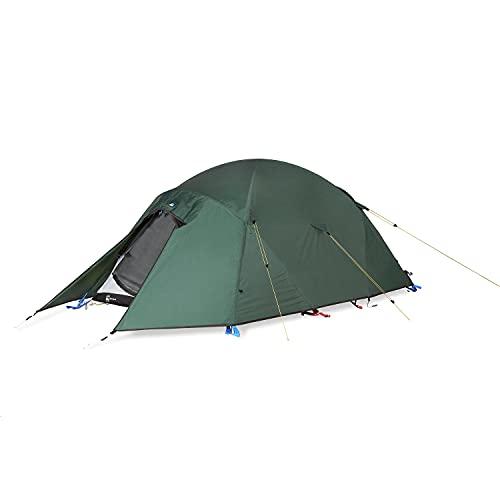 Terra Nova Unisex-Erwachsene Quasar Zelt, grün, Für 2 Personen