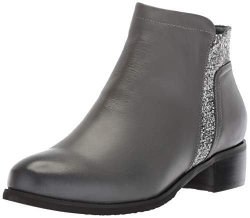 Propet Women's Taneka Ankle Boot charcoal 8H(8.5) WIDE Wide US