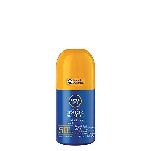 NIVEA SUN Protect & Moisture Moisturising Sunscreen Roll-On SPF50+, 65ml