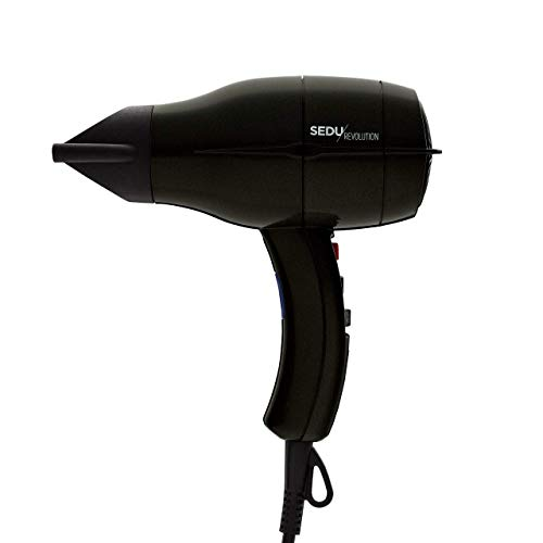 Sedu Revolution Pro Tourmaline Ionic 4000i Hair Dryer (Black)