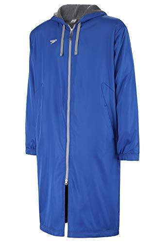 Speedo Unisex-Adult Parka Jacket Fleece Lined Team Colors,Speedo Blue,Medium