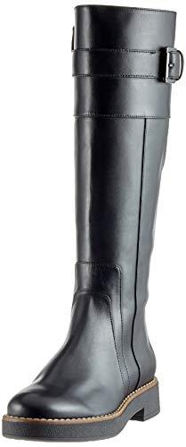 Geox D Adrya A, Stivali Alti Donna, Nero (Black C9999), 39 EU