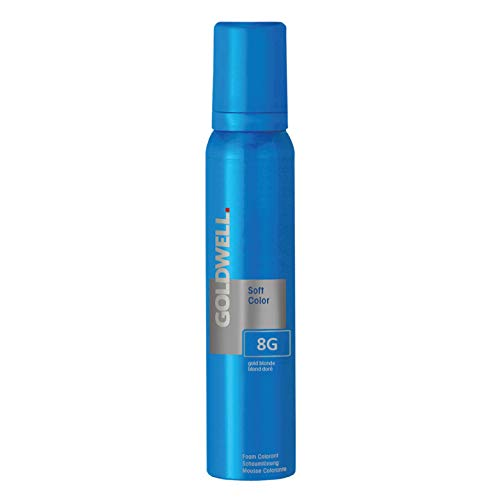 Goldwell Colorance Soft Color Schaumtönung 8G, goldblond, 125 ml, 1er Pack, (1x 125 ml)