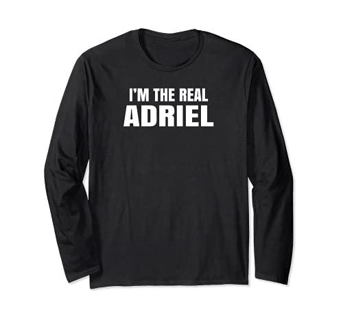 おれはリアルアドリエルクール面白い 長袖Tシャツ