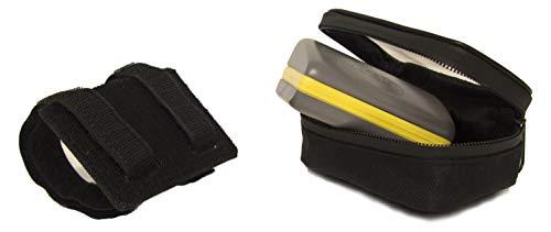 OJ JM0680 Pass Porta Dispositivo Elettronico per Pagamento Pedaggio Strada in Poliestere Removibile