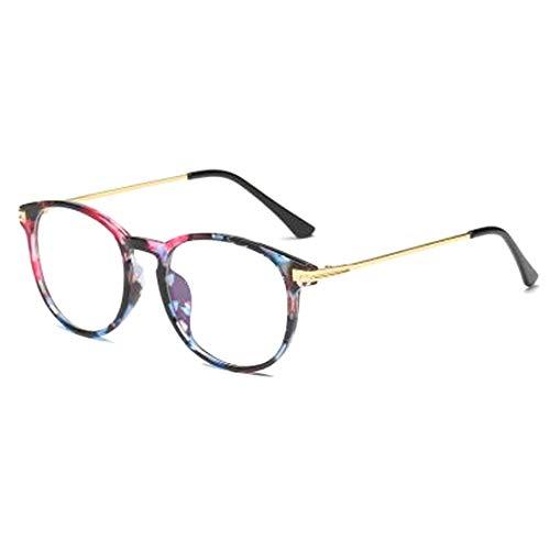 Inlefen Unisexo Blue Light gafas de bloqueo [Anti fatiga ocular]Borde completo Cuadro Transparente Lente ✅
