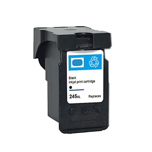UKKU Compatible para Canon 245 246 Uso para Canon Pixma TR4520 IP2820 MX490 492 TS202 302 3120 MG2420 2520 2555 2920 2922 3020 Impresoras con Chips Negro Black