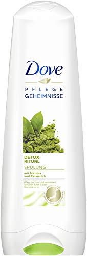 Dove Detox Ritual Acondicionador con matcha y arroz, 6 unidades (6 x 200 ml)