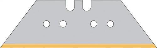 Trapezklinge Titan Stärke 0,65mm eisgehärtet in Spenderbox