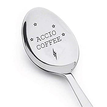Accio Coffee Spoon - Harry Potter Fan Gift ... Spoon Gift