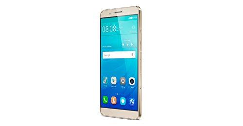 Huawei ShotX Smartphone (5,2 Zoll (13,2 cm) Touch-Bildschirm, 16 GB interner Speicher, Android 5.1) Costal Gold