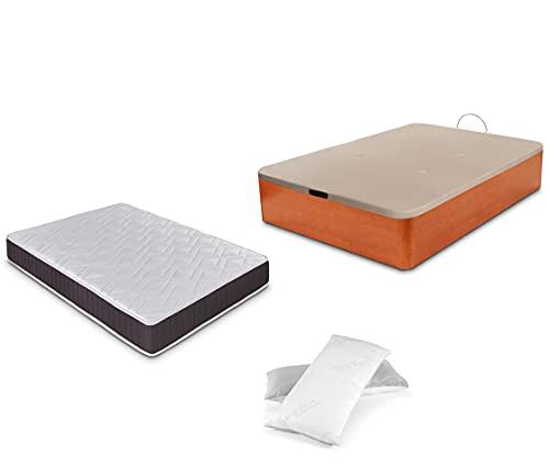 Dormidán - Pack de canapé abatible de Gran Capacidad +...