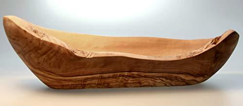 Figura Santa Cestino del Pane Baguette in Legno d'ulivo. 25-28 cm. Il Prodotto è Adatto principalemente per Le Baguette. qualità Originale