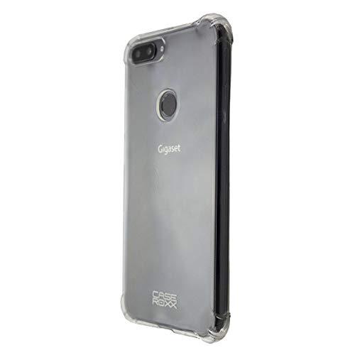 caseroxx TPU-Hülle für Gigaset GS195 / GS195LS, Handy Hülle Tasche (TPU-Hülle in transparent)