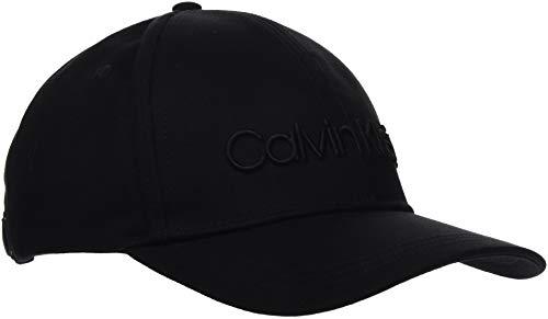 Calvin Klein Damen Embroidery Logo Bb Cap Hut, Black, OS