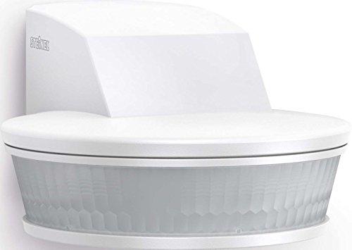 Steinel ST 004064 sensIQ S KNX Bewegungsmelder HF DALI Silber, 180° Unterputz-Sensorschalter, Radar-Präsenzmelder, 2000 W Schaltleistung, 3-Draht-Montage, weiß