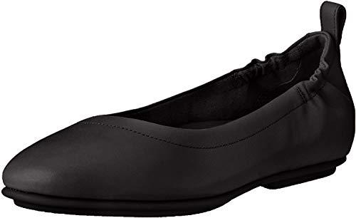 Fitflop Damen Allegro Q74 Geschlossene Ballerinas, Schwarz (Black 001), 37 EU