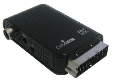Overtech TDT-107 MINI S - Sintonizador de TV