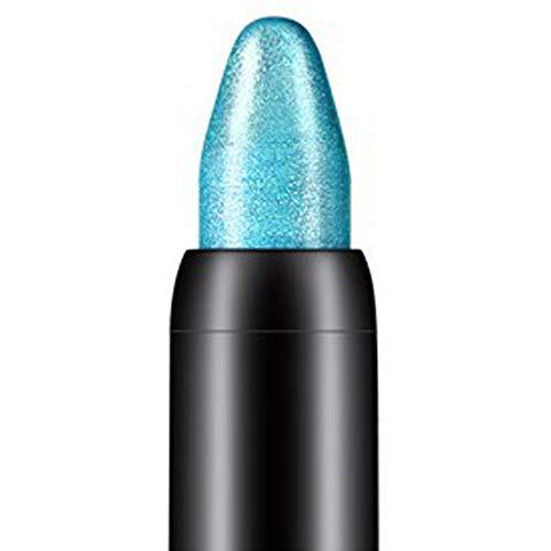Fards à paupières,10 couleurs Crayon à paupières de beauté de surligneur-Lonshell (Bleu)