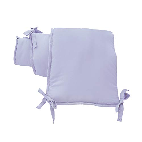 EXQ Home 4-Piece Breathable Crib Liner Protector, Deluxe...
