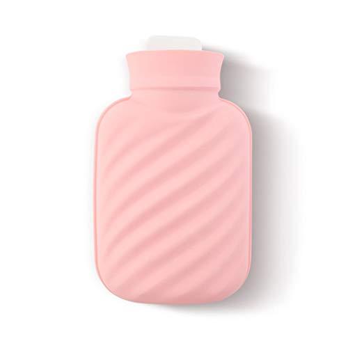 Botellas de Agua Caliente Botella de Agua Caliente Botella Top Premium Hot Water Excelente for el Alivio del Dolor Caliente y fría Terapia Llevar un Bolso refrigerado por Agua con Usted Durable Bolsa