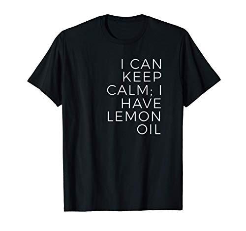 Aceite esencial de limón Aromaterapia Camiseta