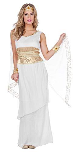 Karneval-Klamotten Römerin Kostüm Damen Faschingskostüm Römische Göttin Damenkostüm