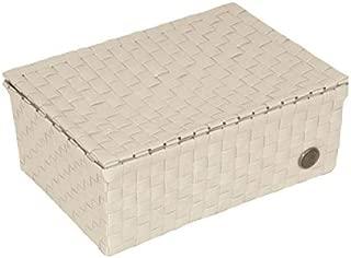 Handed BY Udine Box Boîte Couvercle Pliante Boîte Corbeille de Rangement Blanc White