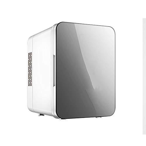 GYMO Hautpflegeprodukte Kleiner Kühlschrank, Kleiner Autokühlschrank, Tragbares Mini-Kühl- Und Heizgerät Für Zwei Zwecke Zur Aufbewahrung Von Kosmetika