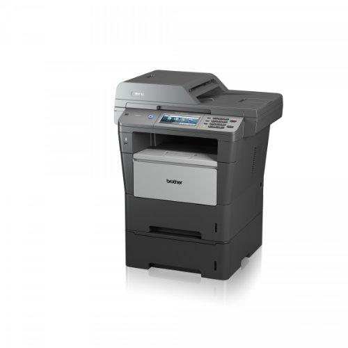 Brother MFC-8950DWT Monolaser-Multifunktionsgerät (Scanner, Kopierer, Drucker, Fax, 1200 x 1200 dpi, USB 2.0) grau