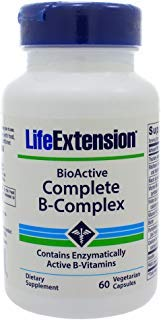 Life Extension, BioActive Complete B-Complex, 60 Veg. Kapseln
