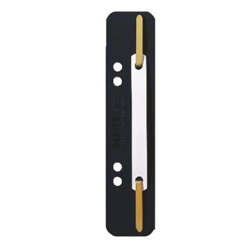 Leitz 3710-00-95 Heftstreifen und Aktenbinder PP 3.5 x 15.8 cm 25 Stück schwarz