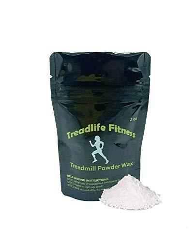 TreadLife Fitness Powder Wax - Dry Treadmill Belt Wax - 1oz - 3+ Applications