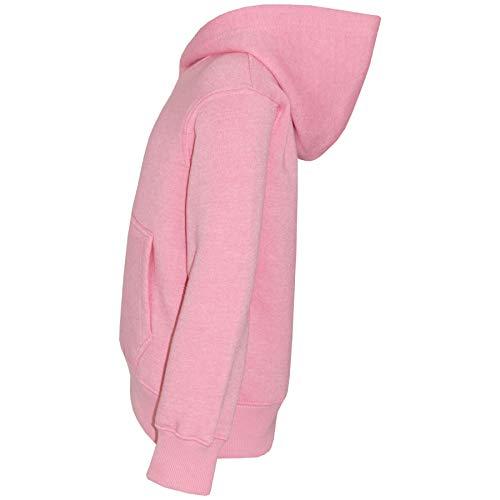 A2Z 4 Kids Kids Girls Boys Sweat Shirt Tops Casual Plain Pullover Sweatshirt - Plain Sweat Hoodie Baby Pink 11-12