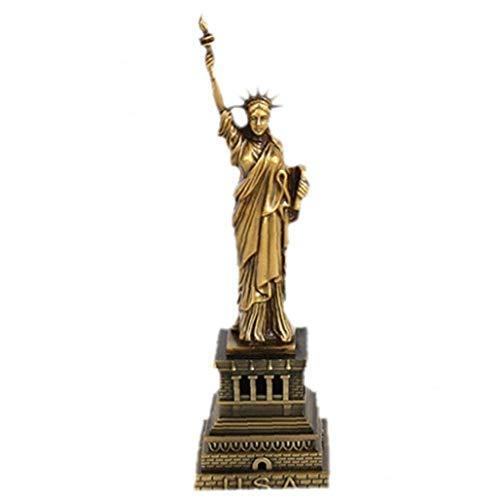 Alloy Modell Der Freiheitsstatue Vintage Architektur Figur Statue Of Liberty Miniaturen Dekorative Handwerk Für Souvenirs Hauptdekoration Büro Ornament