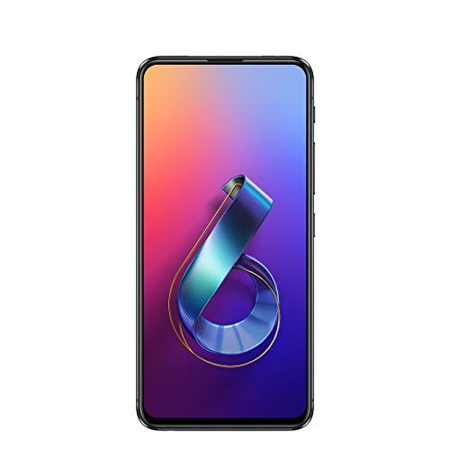 "ASUS ZenFone 6 (ZS630KL-S855-6G128G) - 6.4"" FHD+ 2340x1080 All-Screen NanoEdge Display - 48MP Flip Camera – 6GB RAM - 128GB Storage - LTE Unlocked Dual SIM Cell Phone - US Warranty - Black"