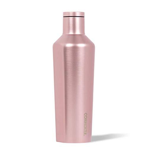 Corkcicle Borraccia termica, Acciaio inossidabile, Colore: rosa metallizzato., 25 oz / 750 ml