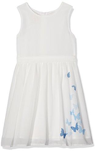 Pezzo D'oro Mädchen Festtagskleid, Kommunionkleid in ecrue, Brautmädchenkleid (116)