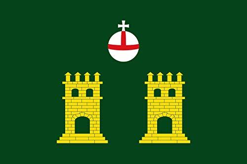 magFlags Bandera XL Representación de la Bandera de Torrebesses | Bandera Paisaje | 2.16m² | 120x180cm