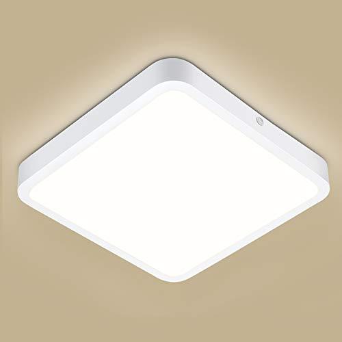 LED Deckenlampe 22W, Oraymin Panel Deckenleuchte 2200LM 4000K Neutralweiß, Flimmerfreie Bürodeckenleuchten geeignet für Küche Schlafzimmer Büro Balkon Flur Esszimmer Usw.
